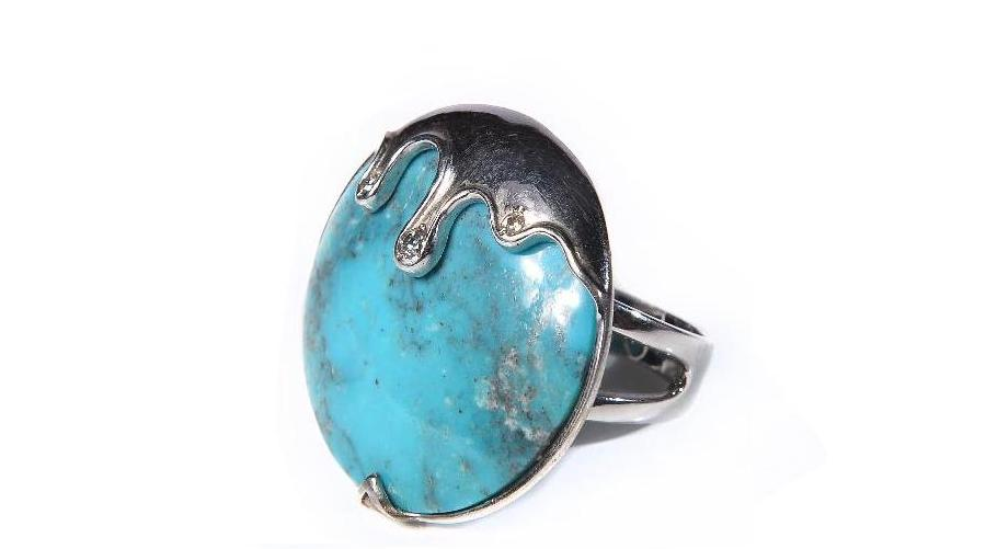 Russian Online store of silver with turquoise